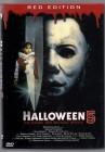DVD kl. Hartbox Hardbox Halloween 5 Red Edition Brutal Gut
