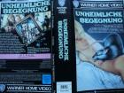 Unheimliche Begegnung ... Peter Weller ... Horror - VHS !!!