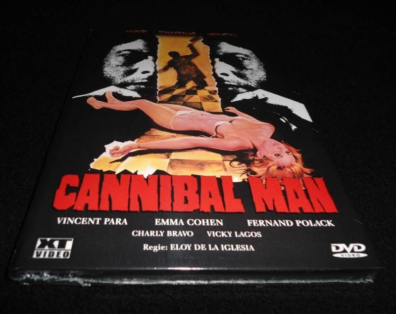 CANNIBAL MAN (XT-Video) - kl. Hartbox - Uncut - DVD - OVP