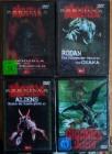 4 * Godzilla Filme ( NEU & EINGESCHWEIßT)