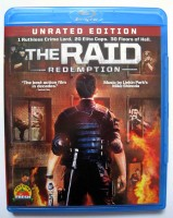 THE RAID - US BLU-RAY CODE A + B UNRATED EDITION - NEUWERTIG