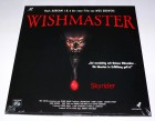 Wishmaster Laserdisc von Laser Paradise - Neuwertig - OVP -