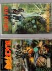 VHS Duo Black Fire und Man Outside EA - Raritäten