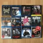 Kleine Blu Ray Sammlung mit 10 Filmen auf 10 Blu Rays