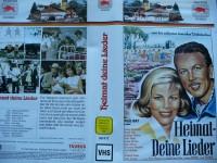 Heimat - Deine Lieder ... Rudolf Lenz  ...   Taurus - VHS !