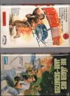 VHS Duo Die Jäger des Jade-Schatzes und Manhunter EAs Rar