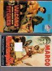 VHS Duo seltene Fantasy Monumental Sandalen Filme Kult