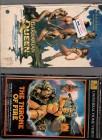 VHS Duo The Throne of Fire und Barbaren Queen Fantasy Kult