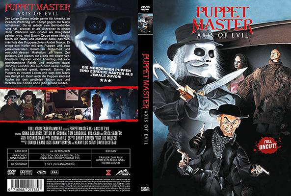 Puppetmaster Axis of Evil - DVD Amaray uncut OVP