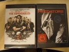 The Expendables + Predators / 2 DVD-Importe UNCUT