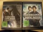 Sherlock Holmes + Spiel im Schatten / 2 DVD-Importe UNCUT
