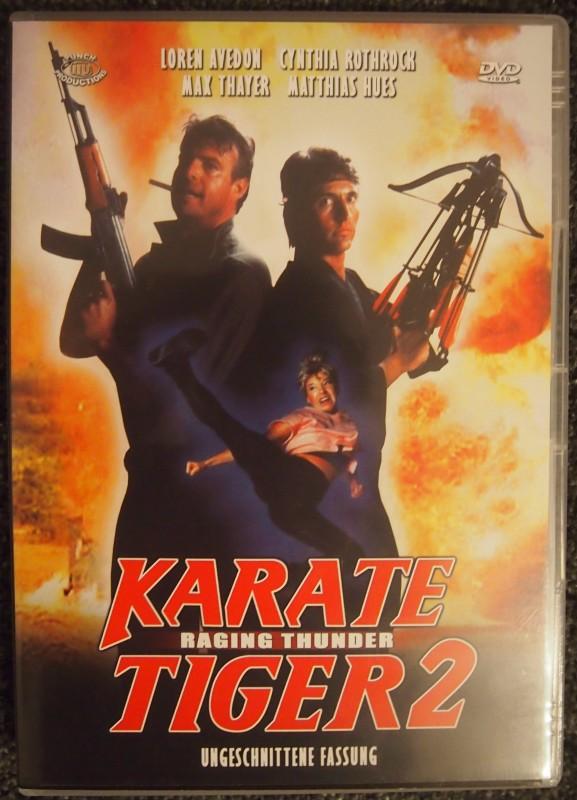 karate tiger 2 raging thunder ungeschnittene fassung kaufen filmundo. Black Bedroom Furniture Sets. Home Design Ideas