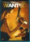 Wanted DVD im Pappschuber mit 3D-Hologramm Disc NEUWERTIG