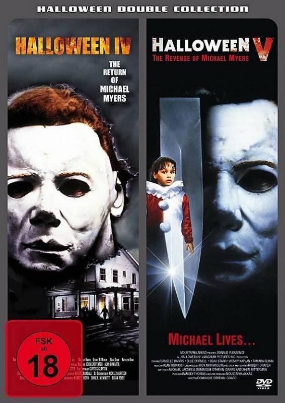 Halloween IV + Halloween V - Halloween Double Collection NEU