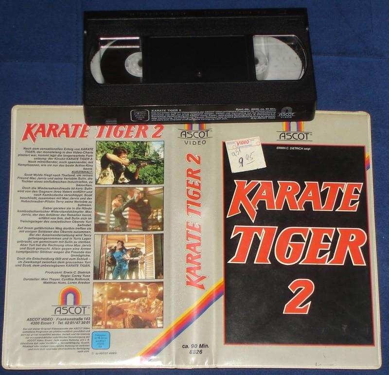 karate tiger 2 vhs cynthia rothrock ascot kaufen filmundo. Black Bedroom Furniture Sets. Home Design Ideas