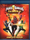 POWER RANGERS SAMURAI Blu-ray complete season 3 Discs