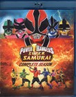 POWER RANGERS SUPER SAMURAI Blu-ray complete season 2 Discs