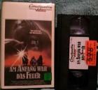 Am Anfang war das Feuer Constantin Video VHS Erstausgabe