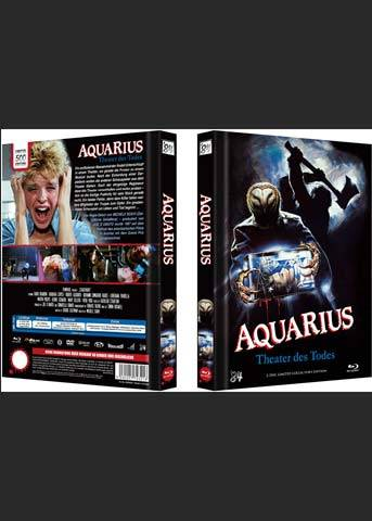 AQUARIUS (STAGE FRIGHT)  - Cover A - Mediabook