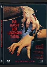 NIGHT OF THE LIVING DEAD (2DVD+Blu-Ray+CD) Cover A