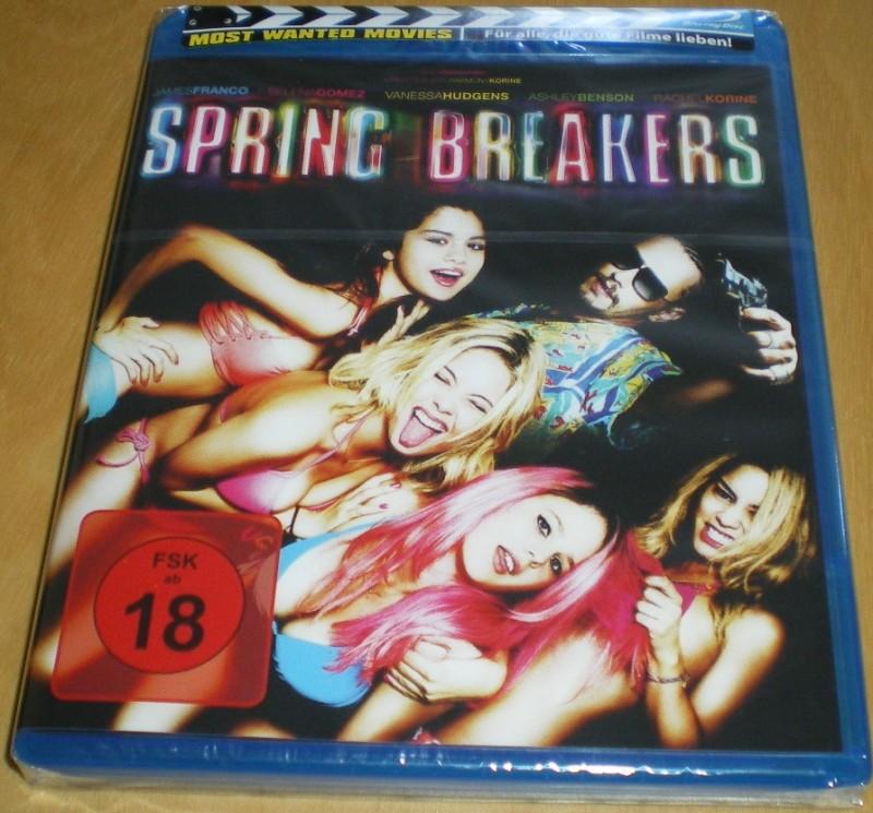 Spring Breakers  Blu-ray Neu & OVP