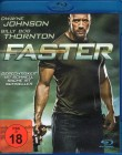 FASTER Blu-ray - Dwayne Johnson Billy Bob Thornton Action