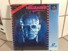 Laserdisc HELLRAISER Spezialedition Teil 1 und 2 limitiert