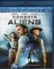 COWBOYS & ALIENS Blu-ray + DVD Daniel Craig Harrison Ford