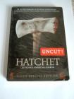 Hatchet (2 DVD´s, Steelcase, OVP)