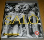 SALO OR THE 120 DAYS OF SODOM  UNCUT  BLU-RAY