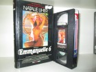 VHS - Emanuelle 6 - Natalie Uher - VPS HARDCOVER