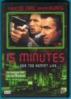 15 Minutes - Der Tod kommt live DVD Robert De Niro NEUWERTIG