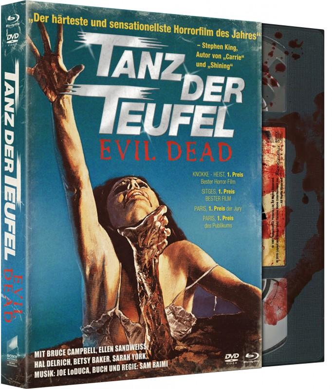 Tanz der Teufel - DVD/BD Digipak LE OVP