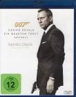 DANIEL CRAIG Collectuion JAMES BOND 007 - 3x Blu-ray Box