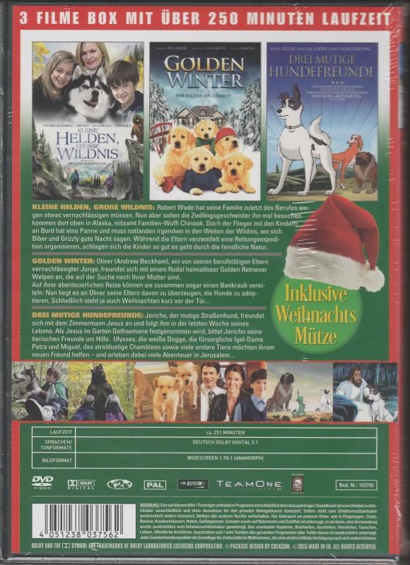 weihnachten mit den treuesten freunden dvd neu ovp 3. Black Bedroom Furniture Sets. Home Design Ideas