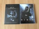 NINJA - REVENGE WILL RISE und PFAD DER RACHE 2 DVDs