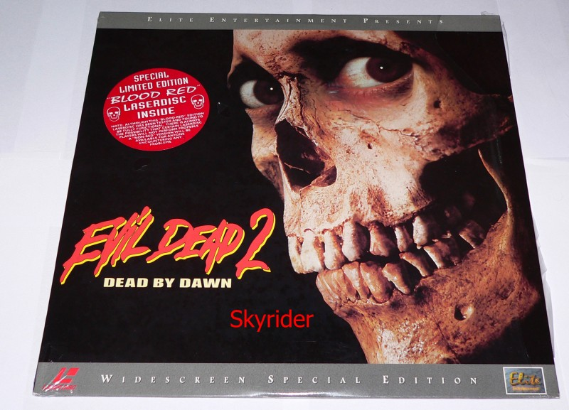 Evil Dead 2 - Dead by Dawn - Blood Red - Laserdisc