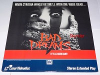 Bad Dreams Laserdisc