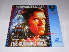 The Running Man Laserdisc von Astro - 2 LD's -