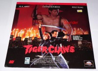 Tiger Claws Laserdisc
