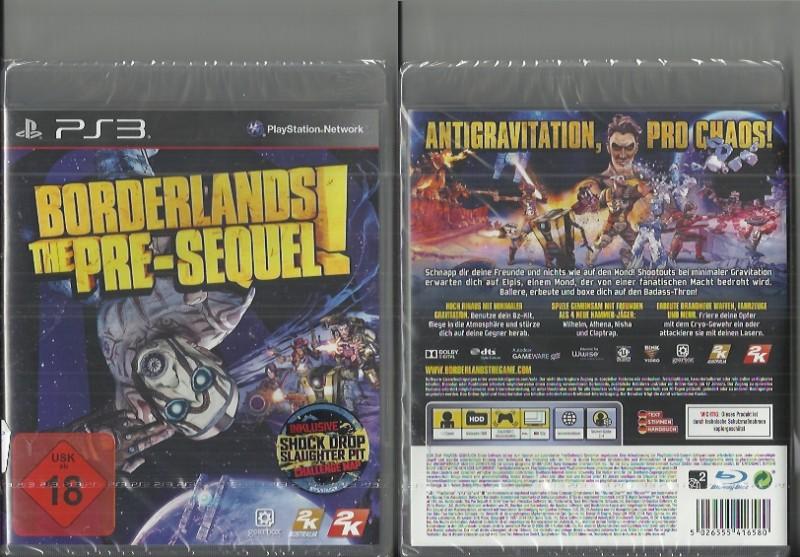 PS3 - Borderlands - The Pre-Sequel (69015565, NEU)