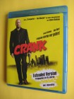 CRANK   BLU-RAY  EXTENDED VERSION + BONUS DISC Jason Statham