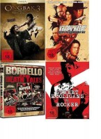 4 DVDs - Action - Horror - NEU & OVP