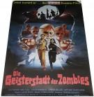 Die Geisterstadt der ZOMBIES - Poster 84x59,5 cm