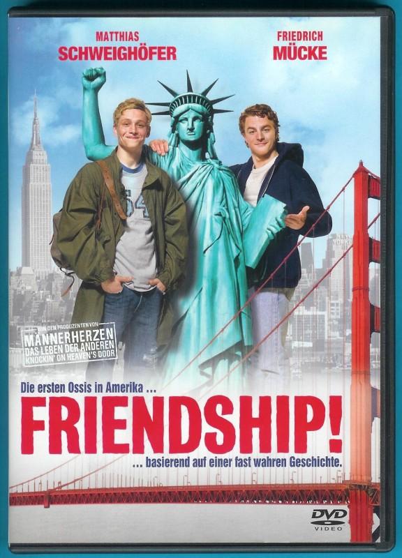 Friendship! DVD Matthias Schweighöfer NEUWERTIG