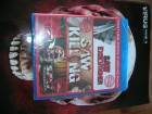 SAW KILLING + 2 BONUS TORTURE FILME BLURAY UNCUT OVP NEU