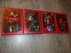 NIGHTMARE ON ELM STREET 1-3 und 5 - Warner - FSK 18 uncut