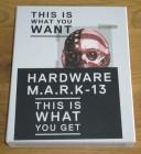 HARDWARE - M.A.R.K.-13 (Blu Ray+2DVDs+CD) - L.E. - wie Neu!