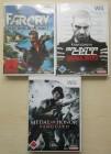 Farcry + Splinter Cell + Medal of Honor - Wii-Spiel - Uncut