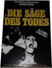 Die Säge des Todes - Poster 42x29,5 cm